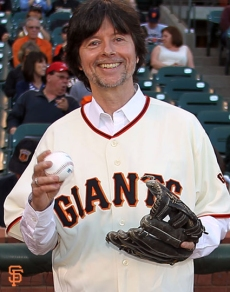 First pitch Ken Burns