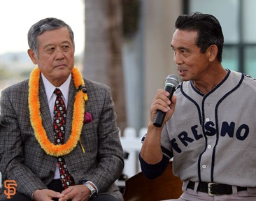 San Francisco Giants, S.F. Giants, photo, 2014, Japanese Heritage Night, Masanori Murakami