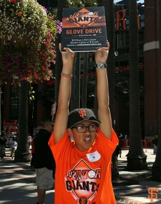 Junior Giants Glove Drive