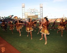 San Francisco Giants, S.F. Giants, photo, 2014, Carnaval