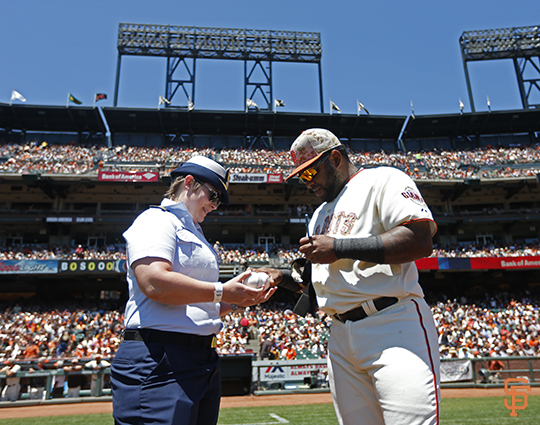 San Francisco Giants, S.F. Giants, photo, 2014, Memorial Day, Pablo Sandoval