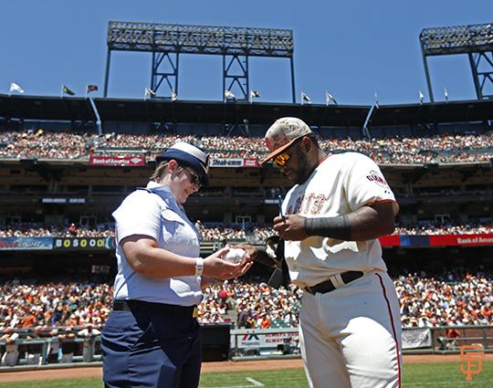 San Francisco Giants, S.F. Giants, photo, 2014, Memorial Day, Pablo Sandoval