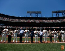 San Francisco Giants, S.F. Giants, photo, 2014, Memorial Day