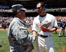 San Francisco Giants, S.F. Giants, photo, 2014, Memorial Day, Ryan Vogelsong