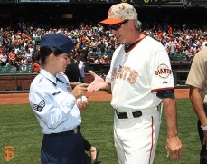 San Francisco Giants, S.F. Giants, photo, 2014, Memorial Day, Ron Wotus