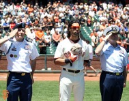 San Francisco Giants, S.F. Giants, photo, 2014, Memorial Day, Angel Pagan