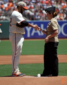 San Francisco Giants, S.F. Giants, photo, 2014, Memorial Day, Yusmeiro Petit