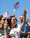 San Francisco Giants, S.F. Giants, photo, 2014, Memorial Day, Fans
