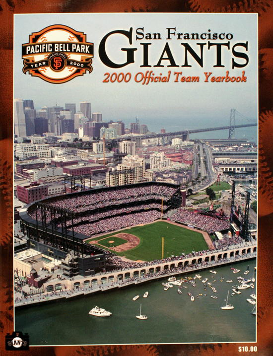 SAN FRANCISCO GIANTS, YEARBOOK, 2000