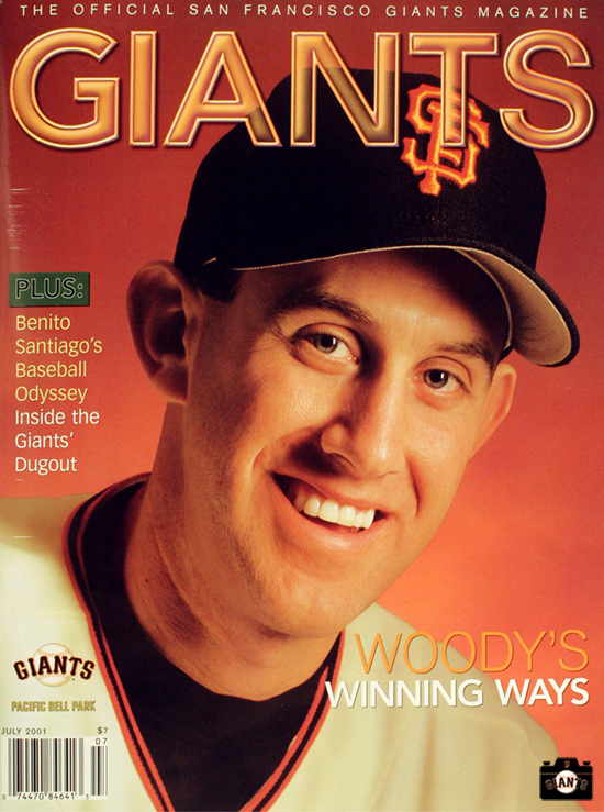 SAN FRANCISCO GIANTS, MAGAZINE, KIRK RUETER
