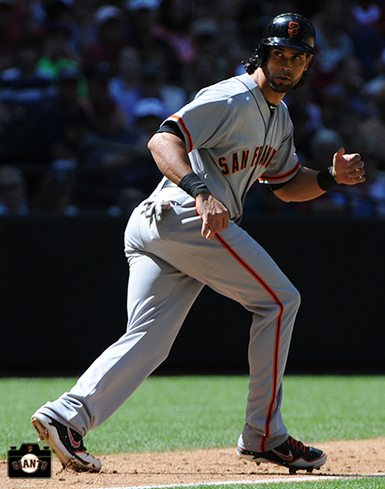 San Francisco Giants, S.F. Giants, photo, 2104, Angel Pagan
