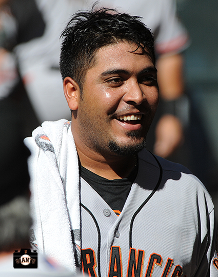 San Francisco Giants, S.F. Giants, photo, 2104, Hector Sanchez