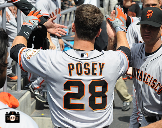 San Francisco Giants, S.F. Giants, photo, 2104, Buster Posey