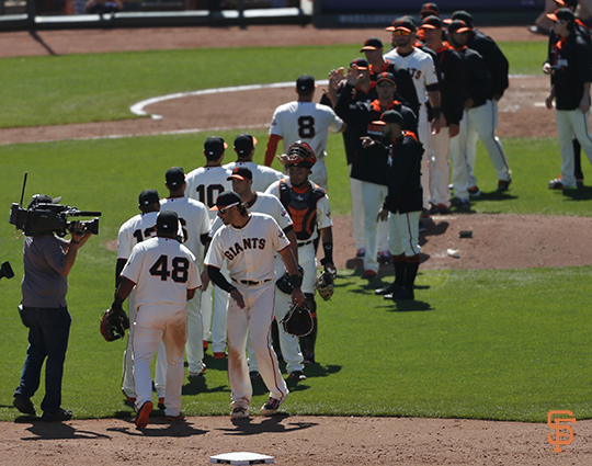 San Francisco Giants, S.F. Giants, photo, 2014, Team