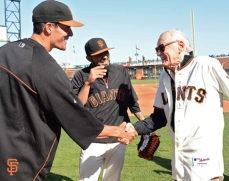 Javier Lopez with Stan Lee