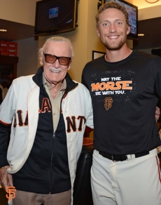 Stan Lee & Hunter Pence