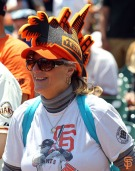 San Francisco Giants, S.F. Giant, photo, 2014, Beach Blanket Babylon