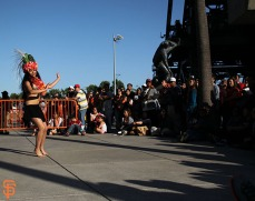 San Francisco Giants, S.F. Giants, photo, 2014, Polynesian Heritage Night