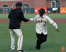 Sergio Romo and Manny Davis