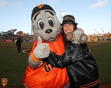 Lou Seal and Amanda Erlinger