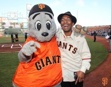 Lou Seal and Manny Davis