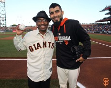 Manny Davis and Sergio Romo