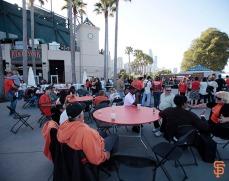 San Francisco Giants, S.F. Giants, photo, 2014, Orange Friday Happy Hour