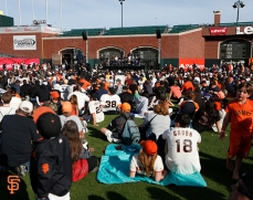 San Francisco Giants, S.F. Giants, photo, 2014, Season Ticket Member Appreciation