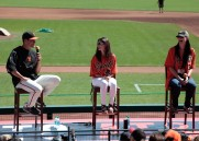 fans, june 14, 2014, sf giants, gamer babe