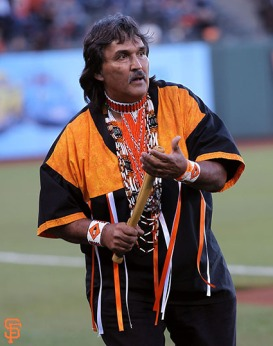 San Francisco Giants, S.F. Giants, photo, 2014, Native American Heritage