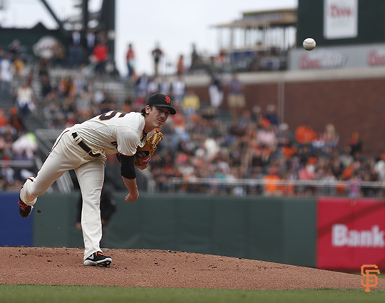 San Francisco Giants, S.F. Giants, photo, 2014, Tim Lincecum