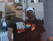 San Francisco Giants, S.F. Giants, photo, 2014, LGBT Night