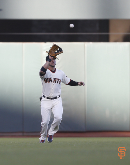 San Francisco Giants, S.F. Giants, photo, 2014, Gregor Blanco