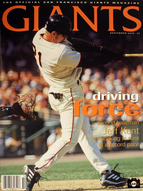 2000 giants magazine, jeff kent, driving force