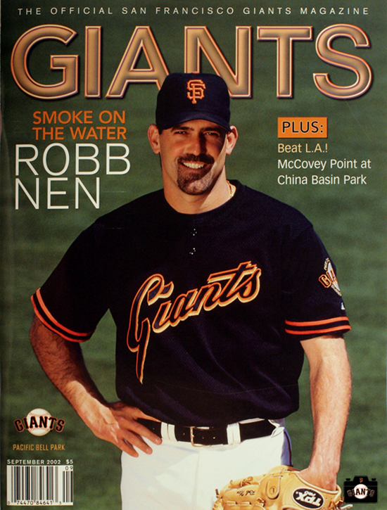 giants magazine, smoke on the water, 2002, robb men