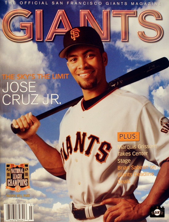 The Sky's The Limit, 2003, jose cruz jr, giants magazine