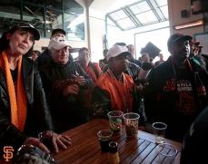 San Francisco Giants, S.F. Giants, photo, 2014, One Flap Down, Jeffrey Leonard