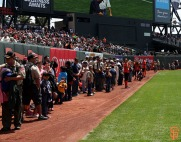 San Francisco Giants, S.F. Giants, photo, 2014, Boy Scouts