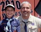 San Francisco Giants, S.F. Giants, photo, 2014, Boy Scouts