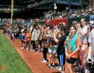 San Francisco Giants, S.F. Giants, photo, 2014, Girl Scouts
