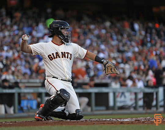San Francisco Giants, S.F. Giants, photo, 2014, Andrew Susac