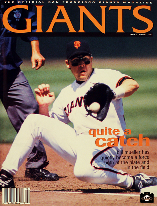 1998, giants magazine, bill mueller