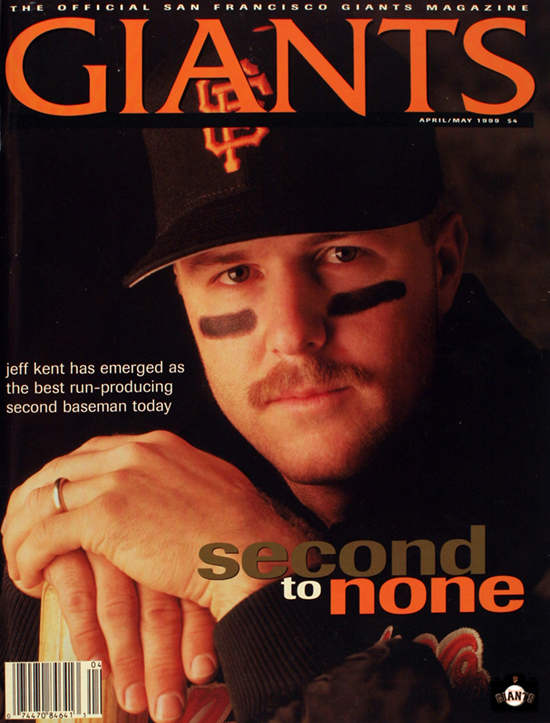 second to none, giants magazine, jeff kent, 1999