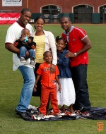 San Francisco Giants, S.F. Giants, photo, 2014, Family Day, Santiago Casilla