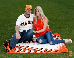 San Francisco Giants, S.F. Giants, photo, 2014, Family Day, Tyler Colvin