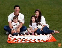 San Francisco Giants, S.F. Giants, photo, 2014, Family Day, Javier Lopez