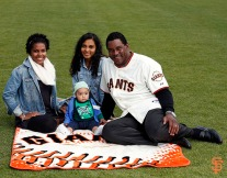 San Francisco Giants, S.F. Giants, photo, 2014, Family Day, Hensley Meulens