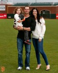 San Francisco Giants, S.F. Giants, photo, 2014, Family Day, Ryan Vogelsong