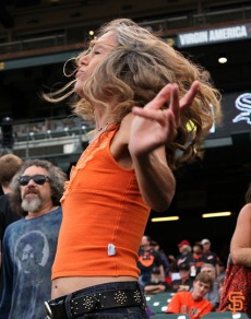 San Francisco Giants, S.F. Giants, photo, Jerry Garcia Grateful Dead, Moonalice