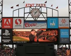 San Francisco Giants, S.F. Giants, photo, 2014, Robin Williams